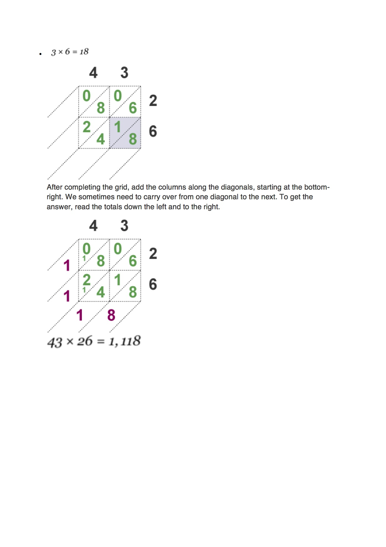 Multiplication 3
